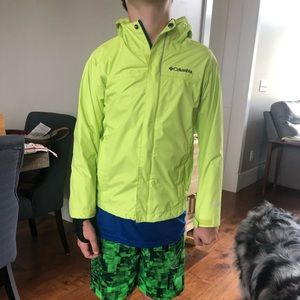 Big kids size small Columbia Jacket